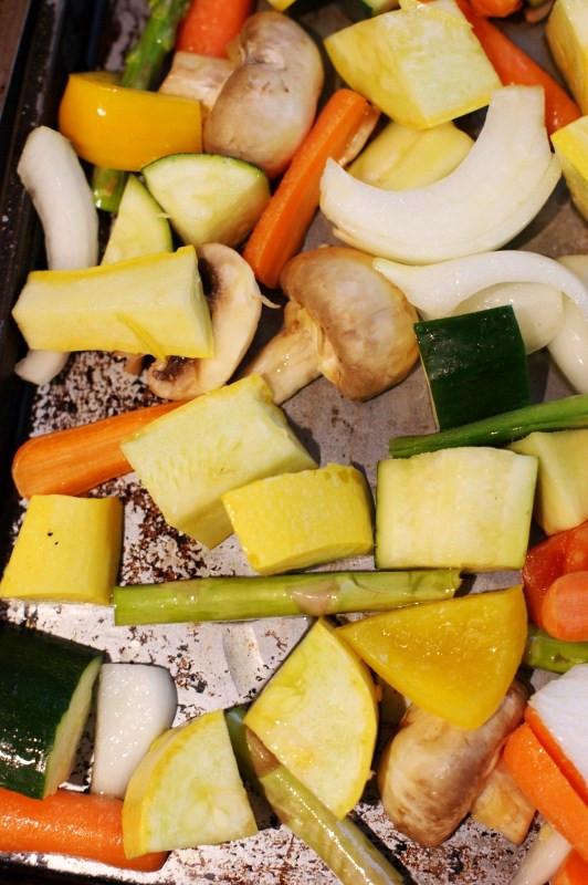 Roasted Summer Vegetables  Easy Oven Roasted Summer Ve ables