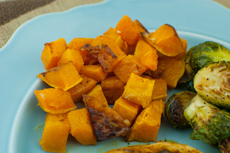Roasted Sweet Potato Chunks  Roasted Sweet Potato Chunks