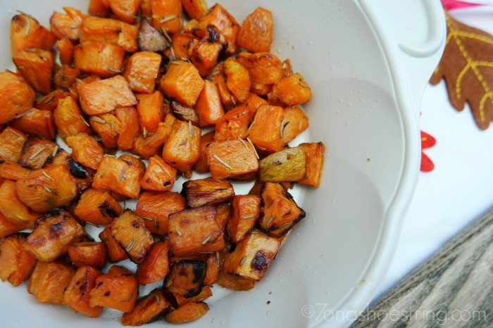 Roasted Sweet Potato Chunks  Two 5 Ingre nt Potato Side Dishes Perfect for
