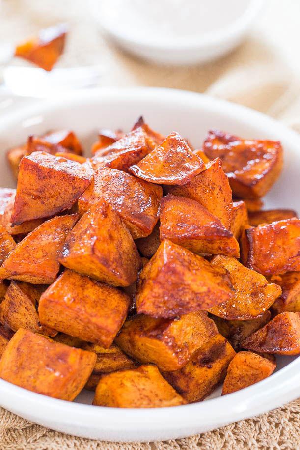 Roasted Sweet Potato Recipe  28 Easy Sweet Potato Recipes Baked Mashed and Roasted