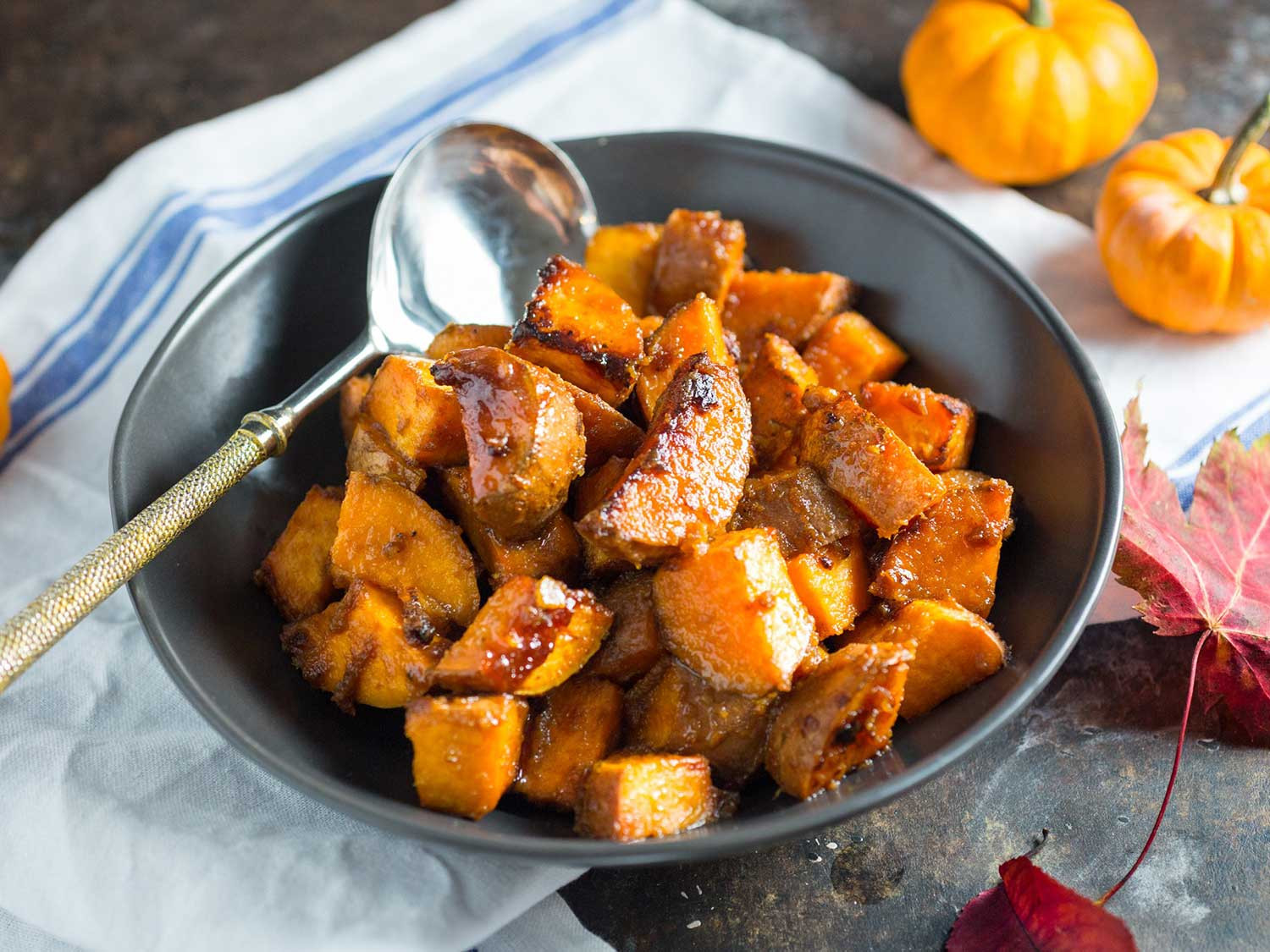 Roasted Sweet Potato Recipe  Roasted Sweet Potatoes With Miso Butter and Maple Recipe