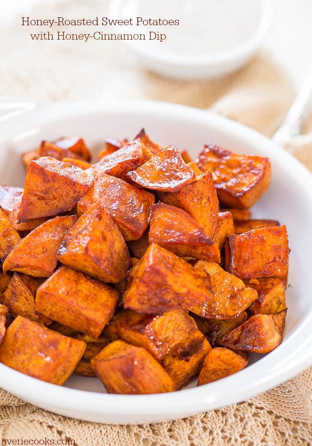 Roasted Sweet Potato Recipe  Roasted Sweet Potato Salad Averie Cooks
