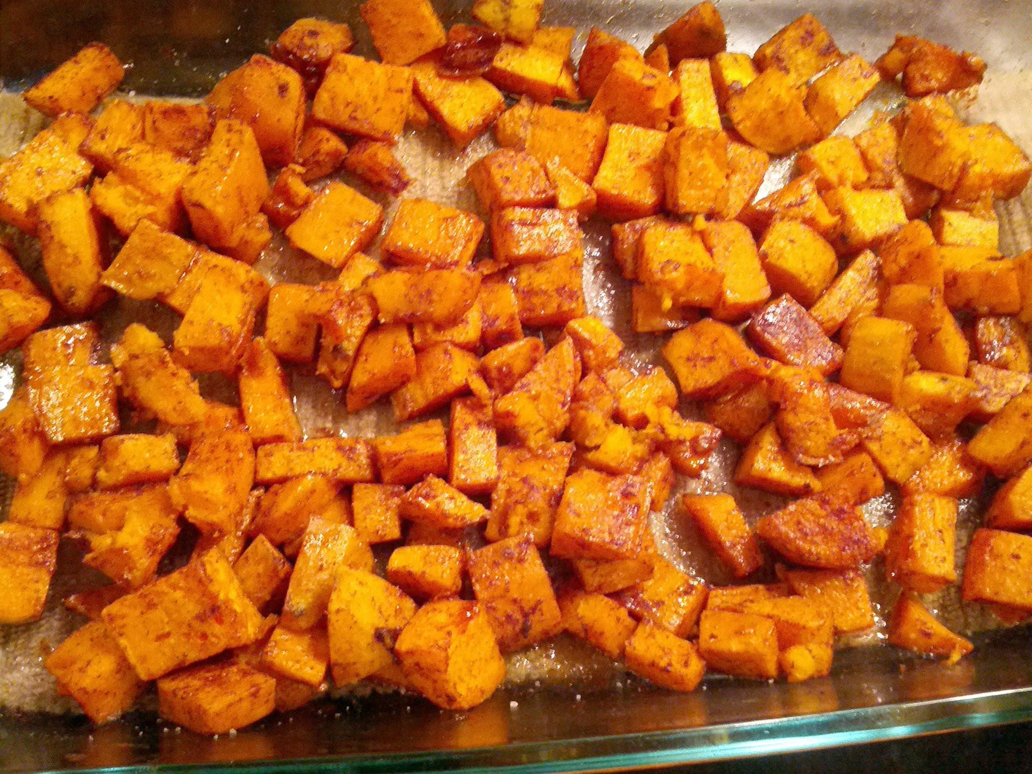 Roasted Sweet Potato Recipe  Roasted Spiced Sweet Potatoes