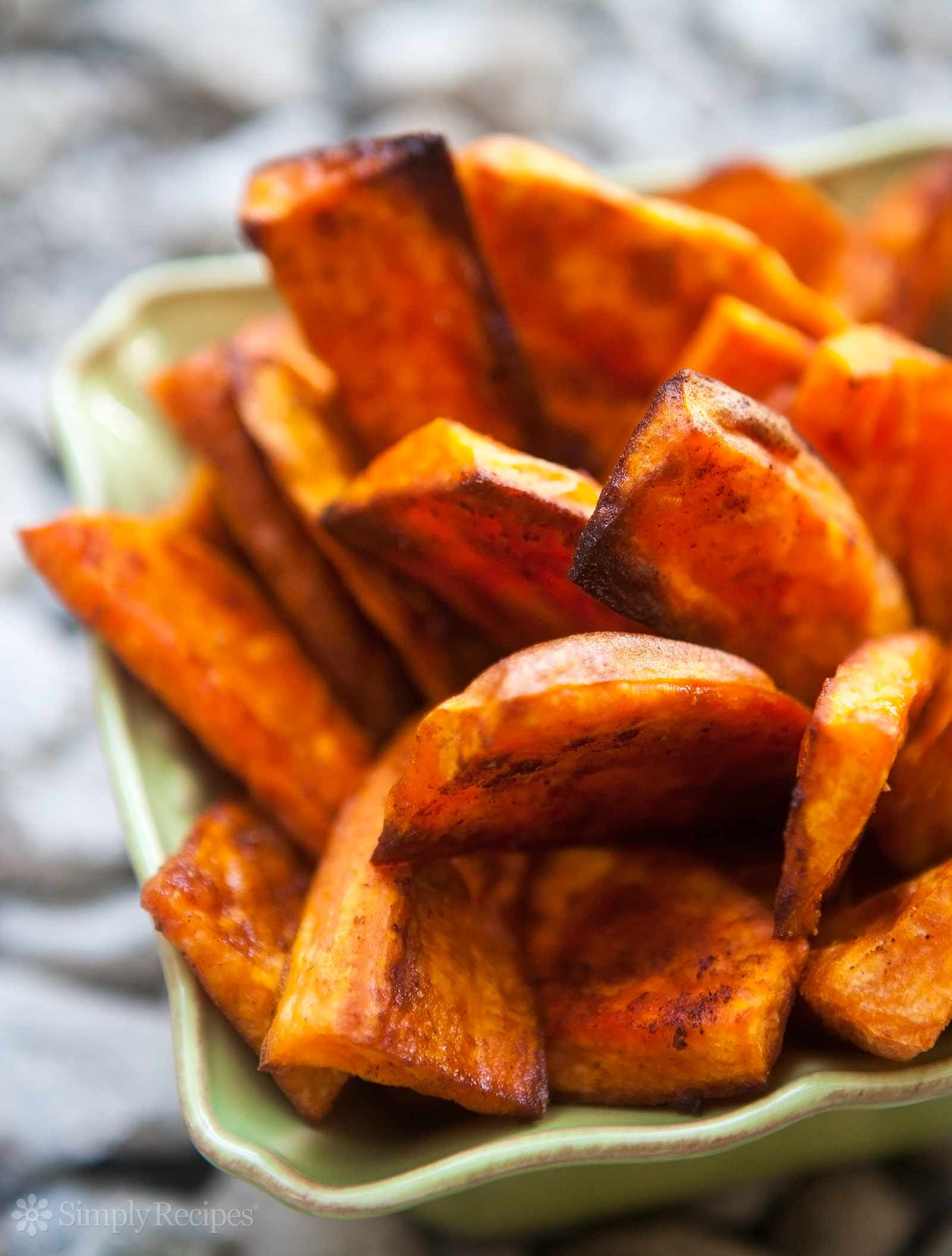 Roasted Sweet Potato Recipe  Oven Baked Sweet Potato Fries Recipe