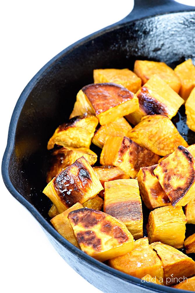 Roasted Sweet Potato Recipe  Skillet Roasted Sweet Potatoes Recipe Add a Pinch