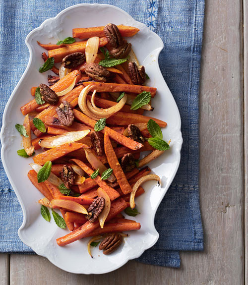 Roasted Sweet Potatoes And Carrots  Roasted Sweet Potatoes and Carrots Recipe