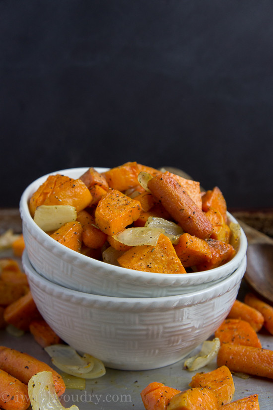 Roasted Sweet Potatoes And Carrots  Simple and Savory Roasted Sweet Potatoes and Carrots I
