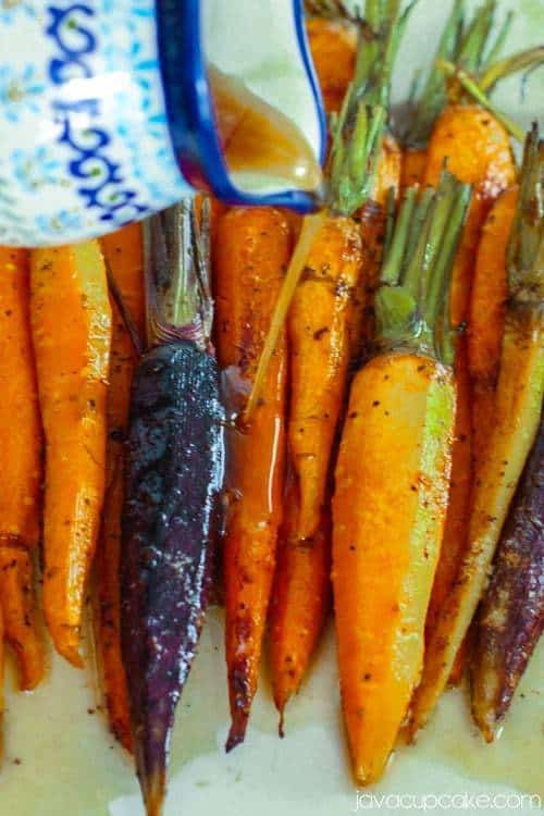 Roasted Sweet Potatoes And Carrots  Roasted Carrots and Sweet Potatoes with Garlic Browned