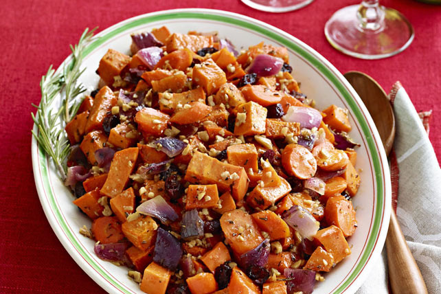 Roasted Sweet Potatoes And Carrots  Maple Roasted Sweet Potatoes and Carrots Recipe Kraft Canada