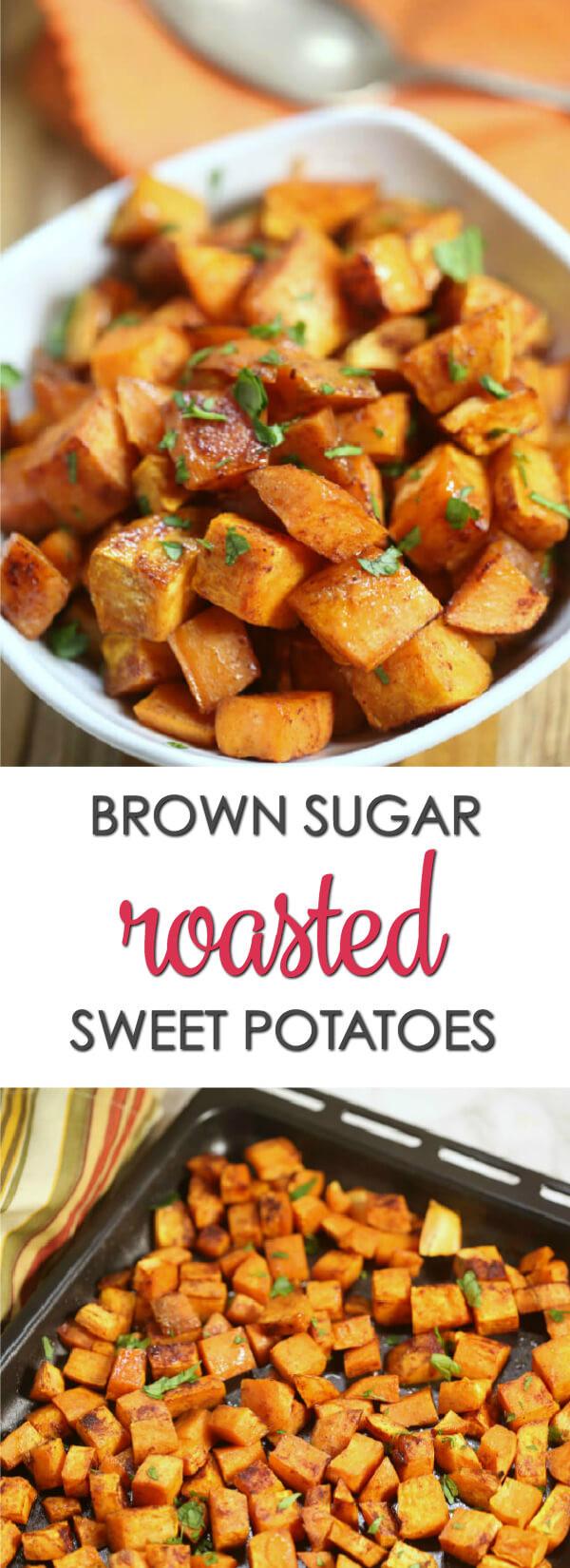 Roasted Sweet Potatoes Brown Sugar  Brown Sugar Roasted Sweet Potato Recipes It Is a Keeper