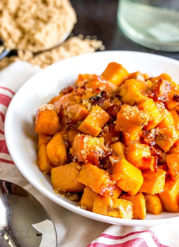 Roasted Sweet Potatoes Brown Sugar  roasted sweet potatoes brown sugar