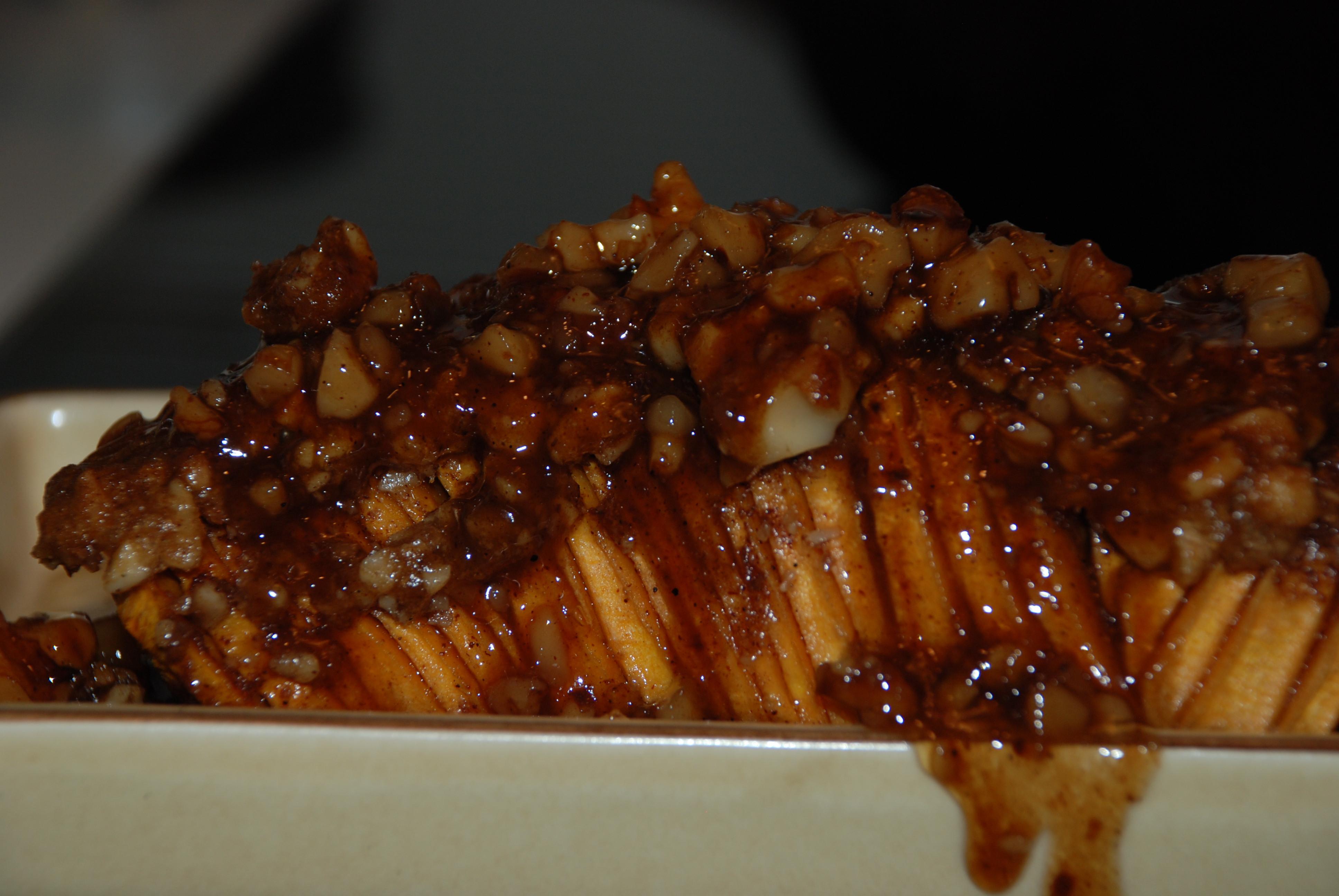 Roasted Sweet Potatoes Brown Sugar  sliced baked sweet potato brown sugar