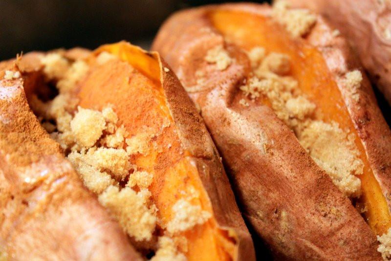 Roasted Sweet Potatoes Brown Sugar  Brown Sugar Baked Sweet Potatoes The Cottage Mama