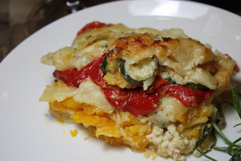 Roasted Vegetable Lasagna  Roasted Ve able Lasagna