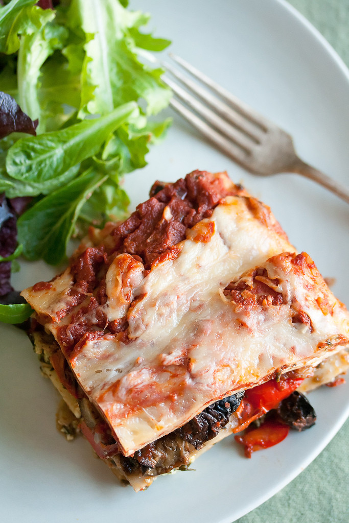Roasted Vegetable Lasagna  Recipe Roasted Ve able Lasagna – John Dodson