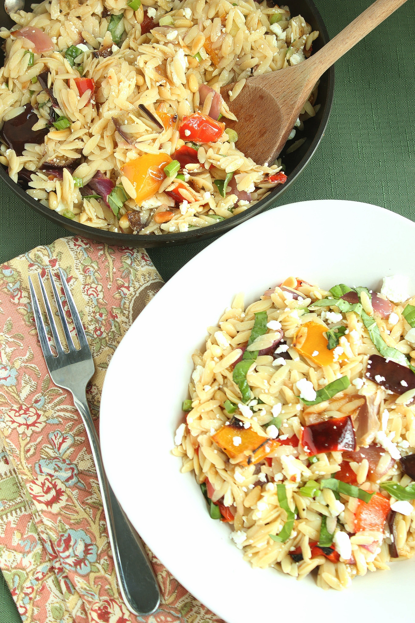 Roasted Vegetables Barefoot Contessa  Ina Garten's Orzo with Roasted Ve ables