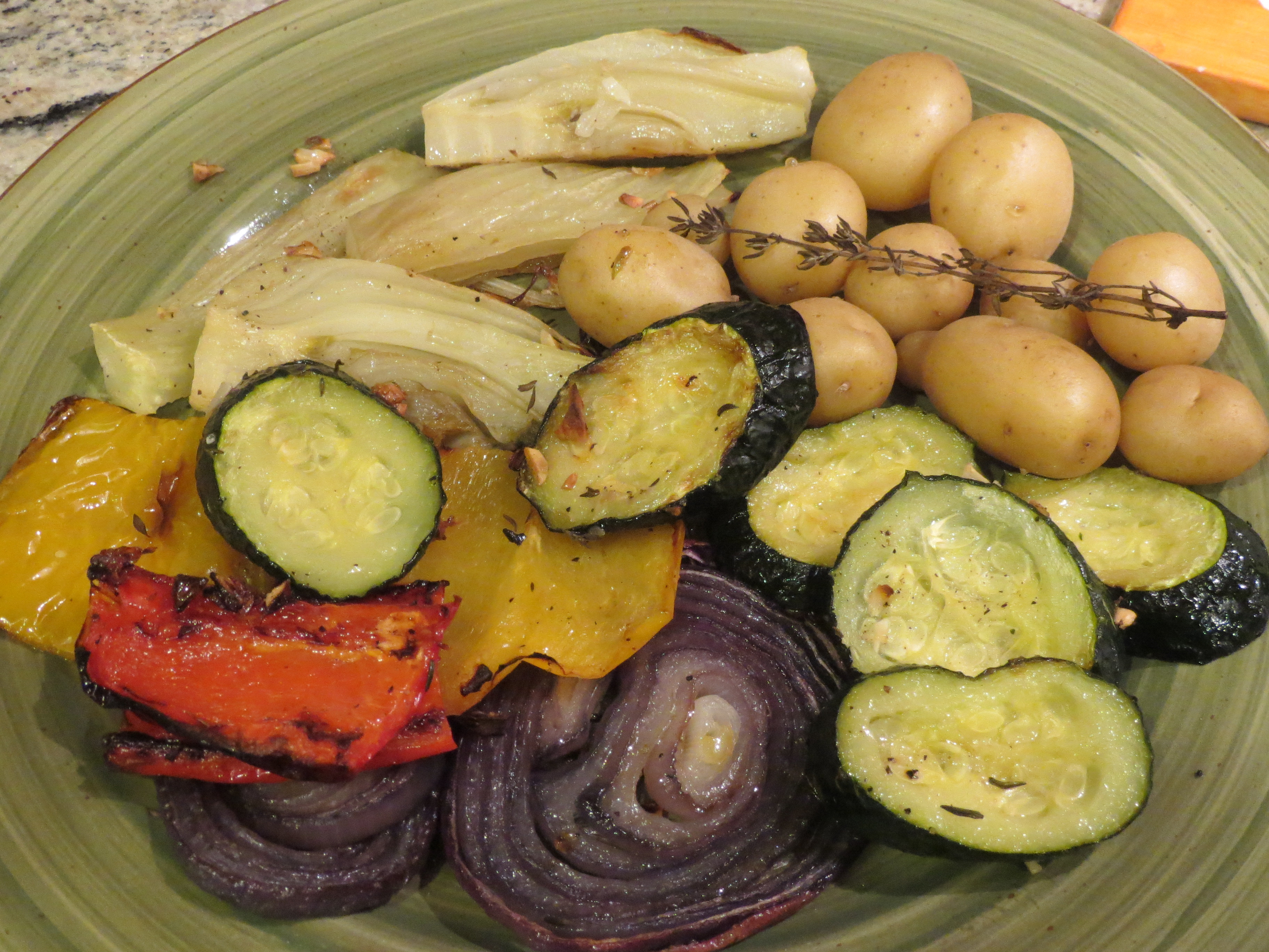 Roasted Vegetables Barefoot Contessa  ina garten oven roasted ve ables