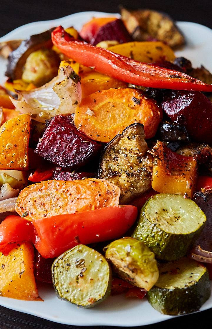 Roasted Vegetables In Oven  Scrumptious Roasted Ve ables i FOOD Blogger
