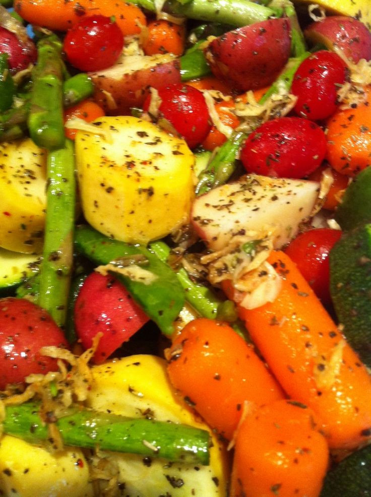 Roasted Vegetables In Oven  1000 ideas about Oven Roasted Ve ables on Pinterest