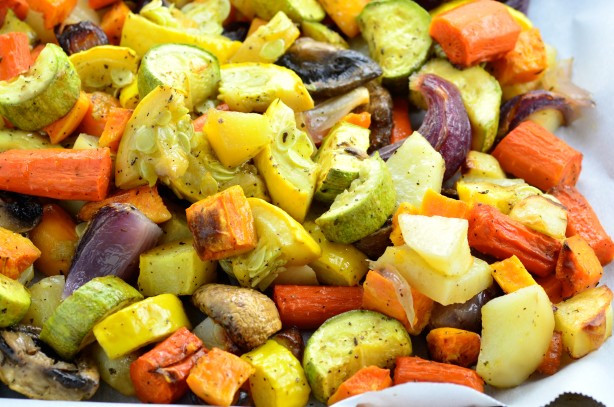 Roasted Vegetables Oven  Oven Roasted Ve ables Recipe Food