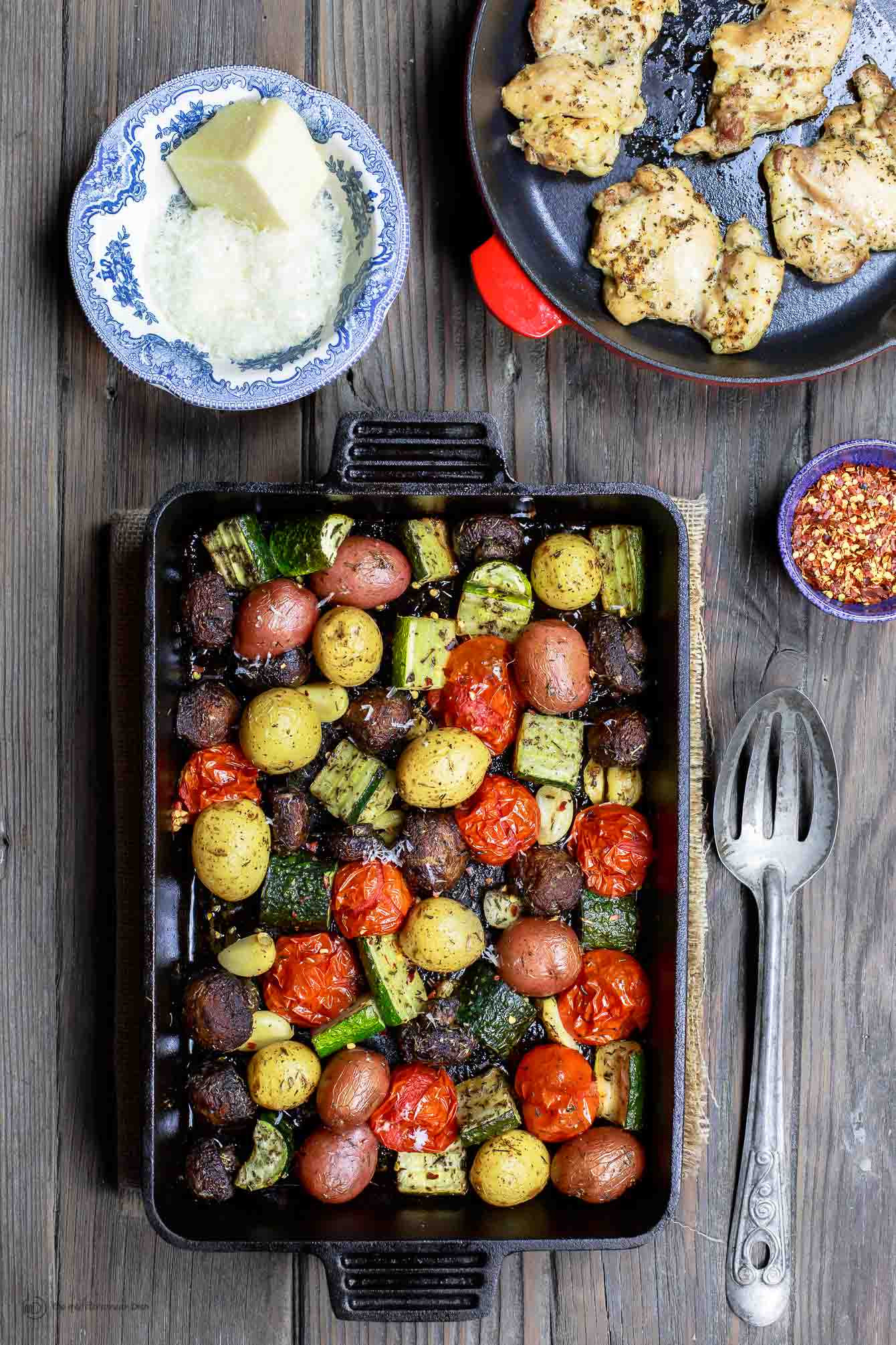 Roasted Vegetables Oven  BEST Italian Oven Roasted Ve ables