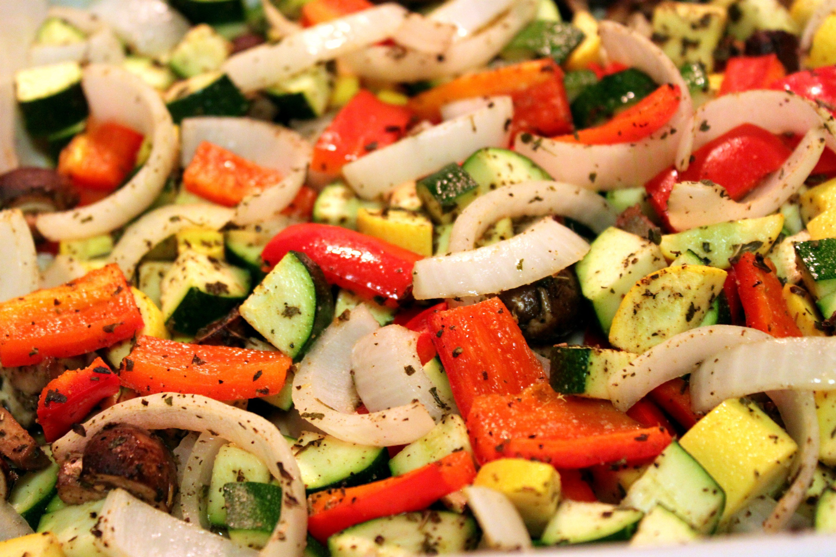 Roasted Vegetables Oven  Healthy Baked Penne with Roasted Ve ables The Picky Eater