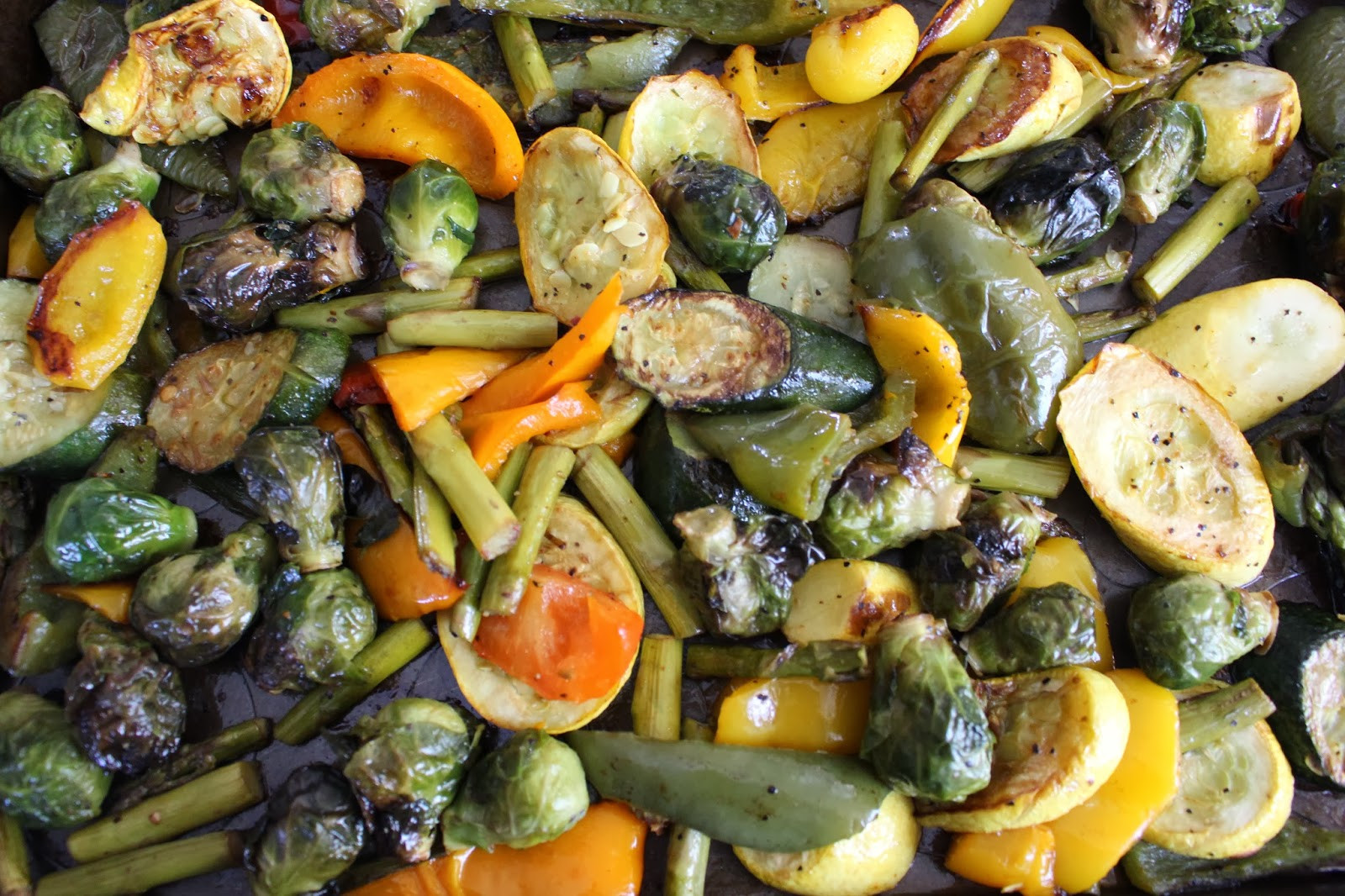 Roasted Vegetables Oven  Mami Eggroll Recipe Oven Roasted Ve ables