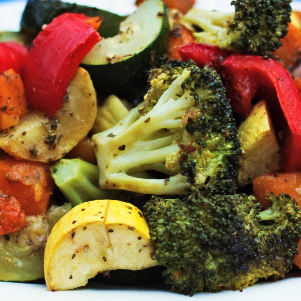 Roasted Vegetables Oven  Oven Roasted Ve able Medley