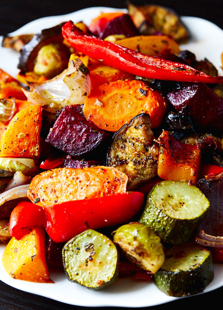 Roasted Vegetables Oven  Scrumptious Roasted Ve ables IFOODBLOGGER