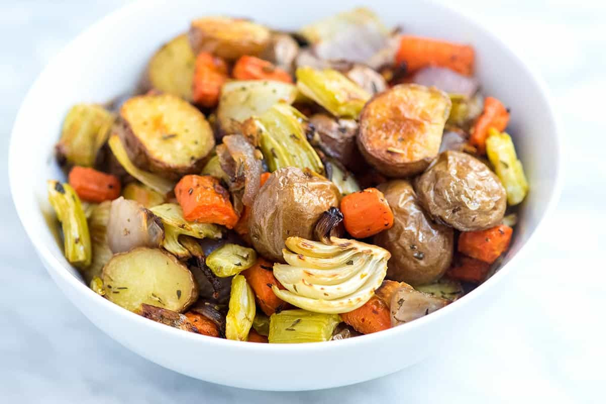 Roasted Vegetables Oven  Our Favorite Oven Roasted Ve ables Recipe