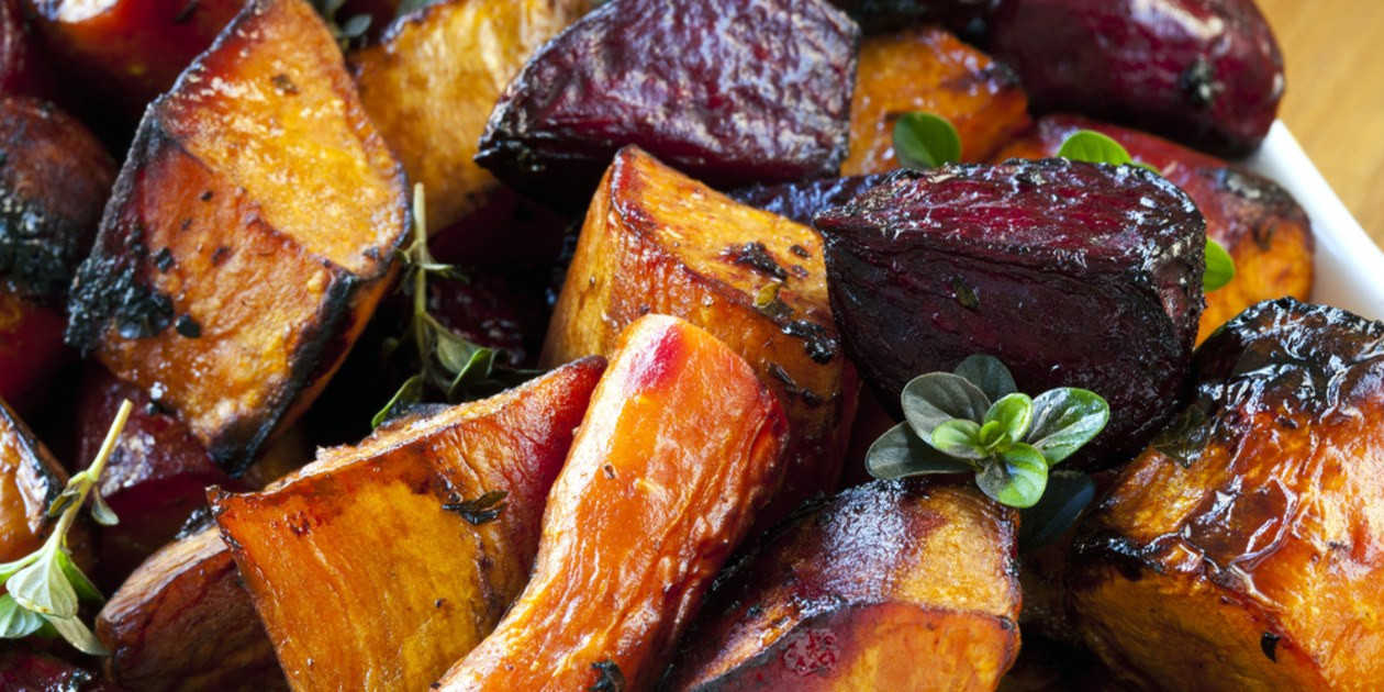 Roasted Vegetables Recipes  Balsamic Roasted Ve ables recipe