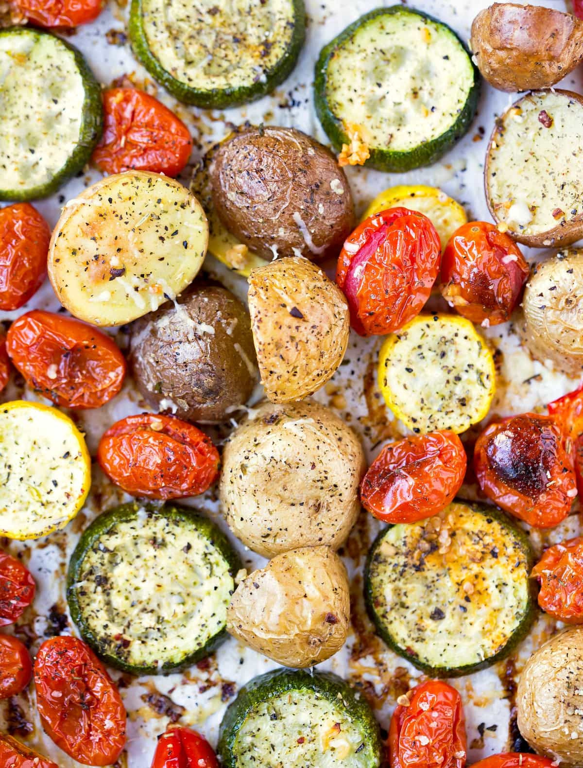 Roasted Vegetables Recipes  Roasted Summer Ve ables I Heart Eating