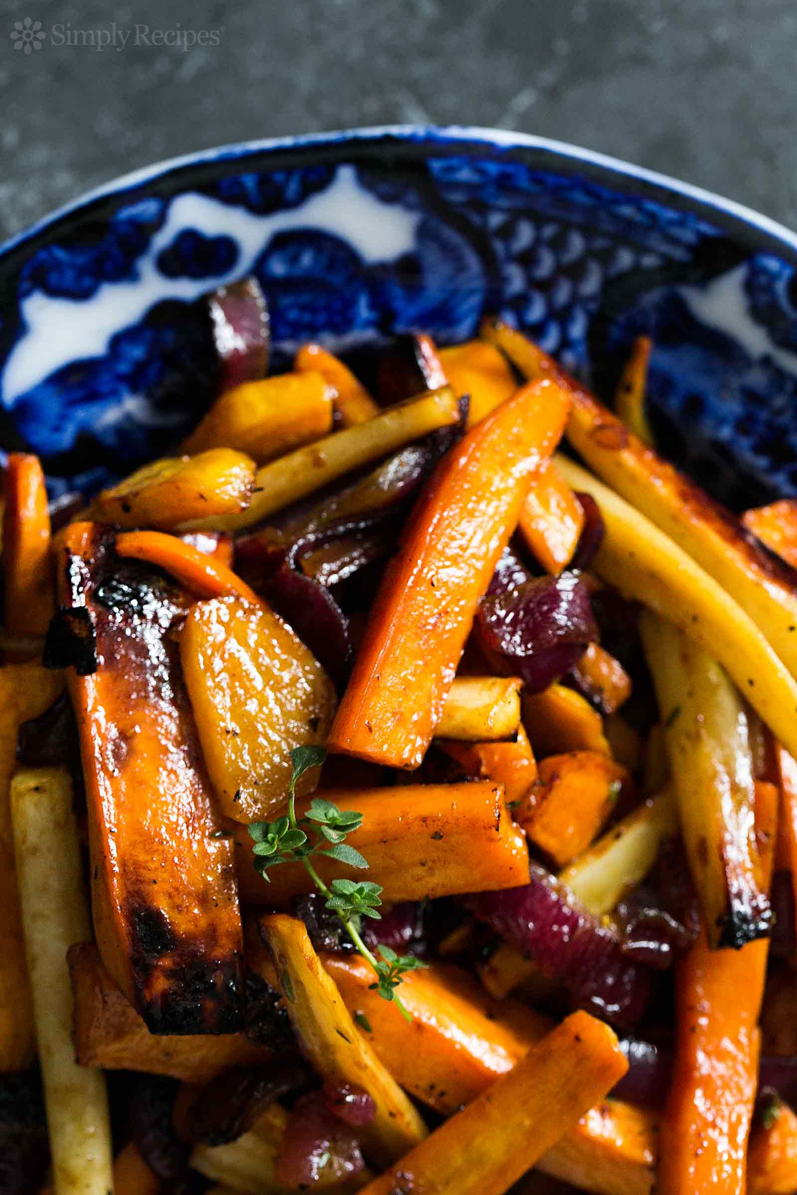 Roasted Vegetables Recipes  Cider Roasted Root Ve ables
