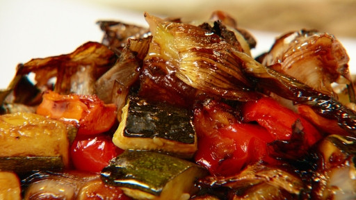Roasted Vegetables With Balsamic Vinegar  Alive and Cooking