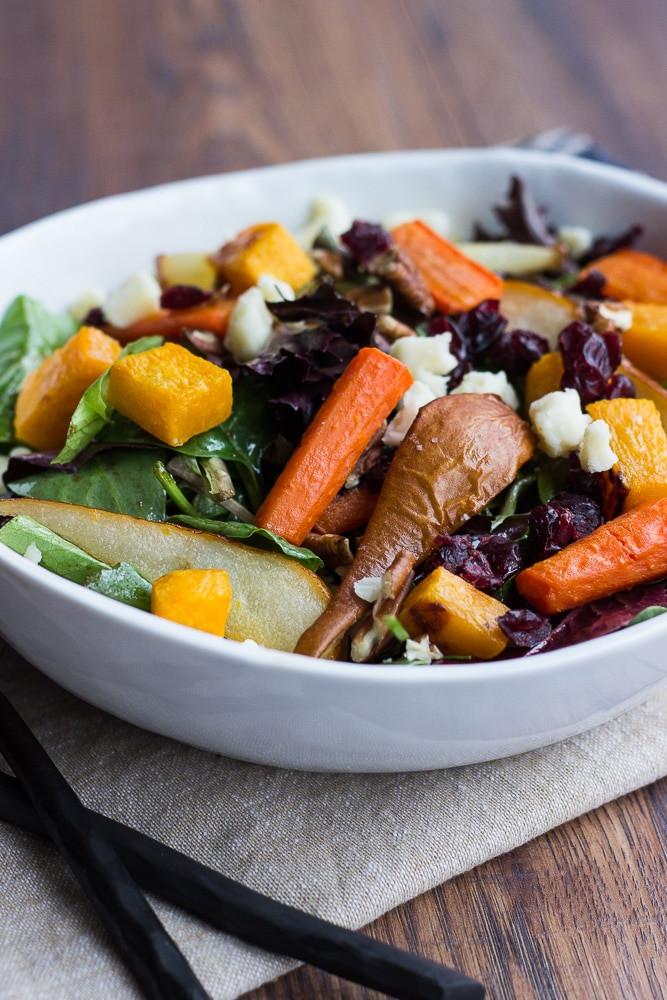 Roasted Vegetables With Balsamic Vinegar  Roasted Ve able Salad with Balsamic Vinaigrette Dressing