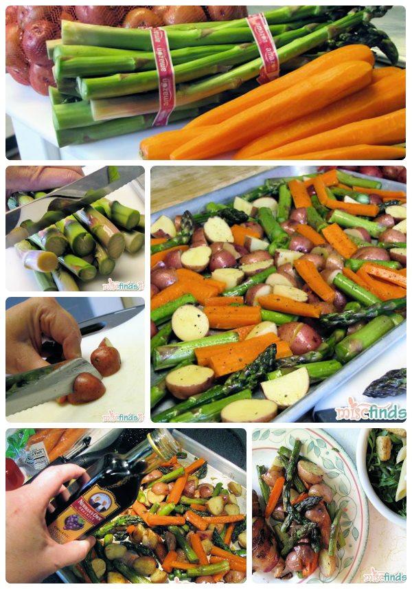 Roasted Vegetables With Balsamic Vinegar  Recipe Roasted Ve ables with Balsamic Vinegar