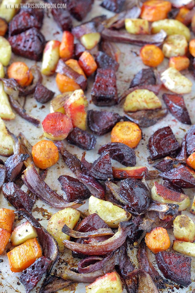 Roasted Vegetables With Balsamic Vinegar  Balsamic Oven Roasted Root Ve ables