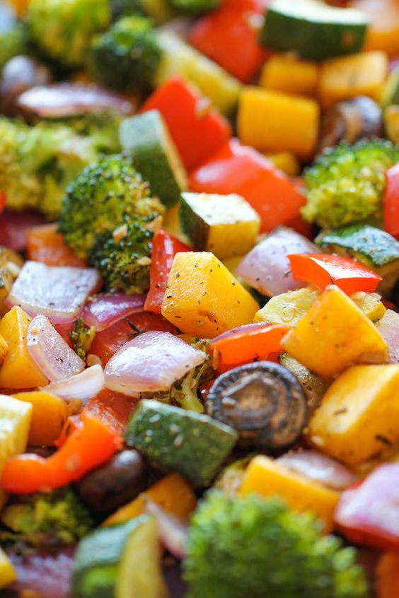 Roasted Vegetables With Balsamic Vinegar  Roasted Ve ables Recipe