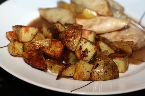Roasted Yukon Gold Potatoes  So Tasty So Yummy Herb Roasted Yukon Gold Potatoes