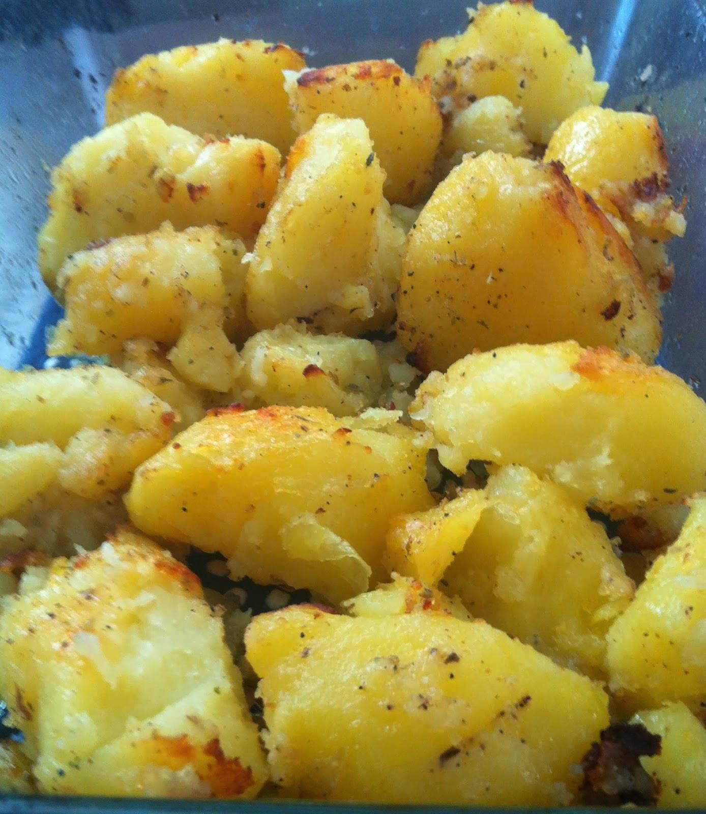 Roasted Yukon Gold Potatoes  Vegan Adjacent Roasted Gold Potatoes