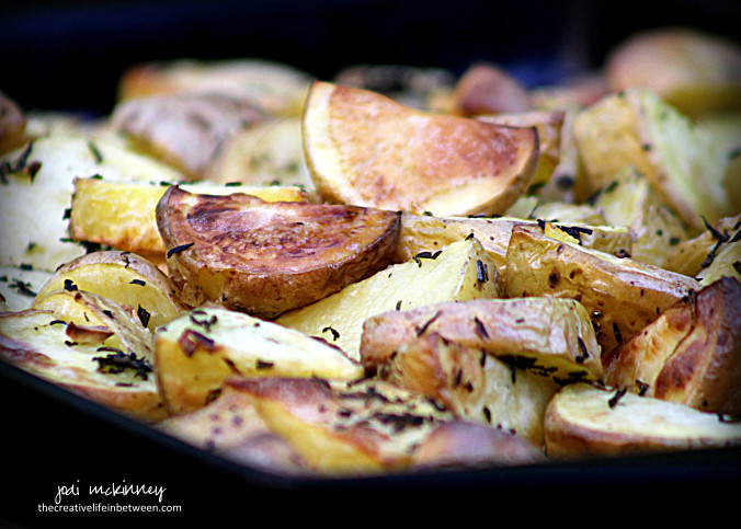 Roasted Yukon Gold Potatoes  Creative Inspiration in Food Watercolor graphy