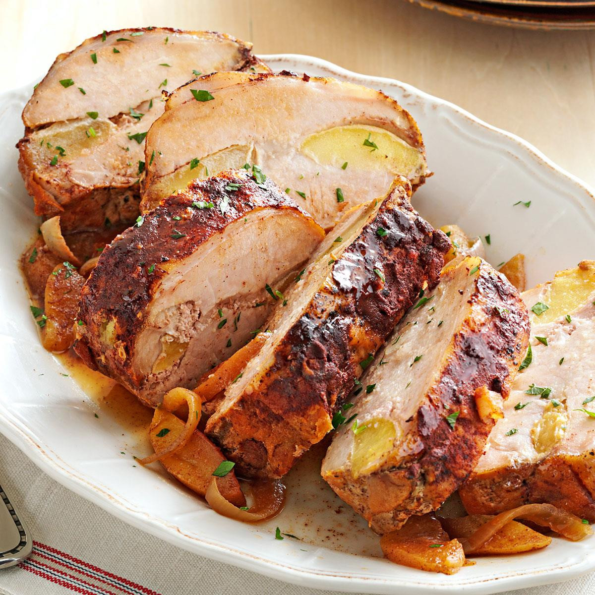 Roasting Pork Tenderloin  Apple Cinnamon Pork Loin Recipe