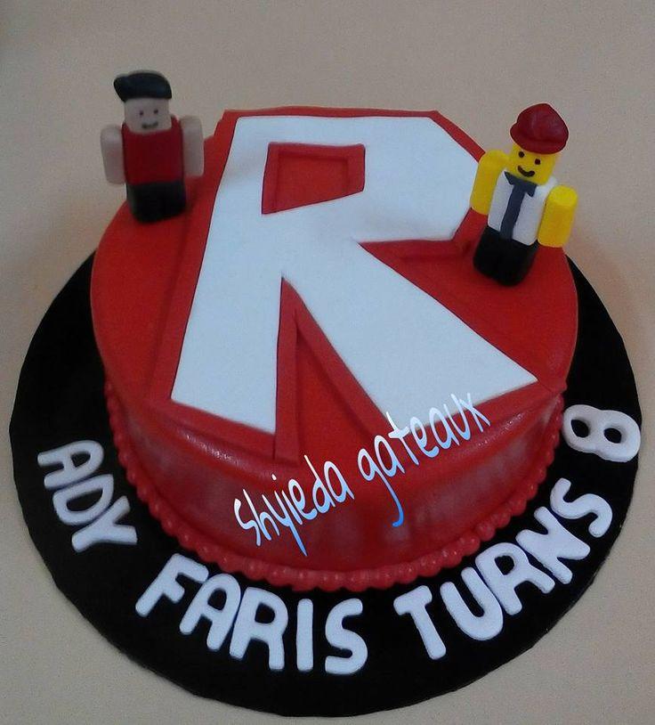 Roblox Birthday Cake  Die besten 25 Roblox cake Ideen auf Pinterest