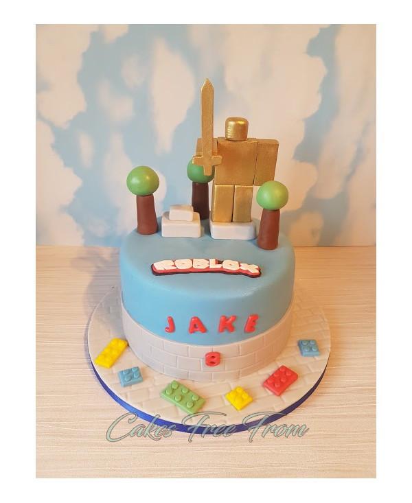 Roblox Birthday Cake  Roblox Cake
