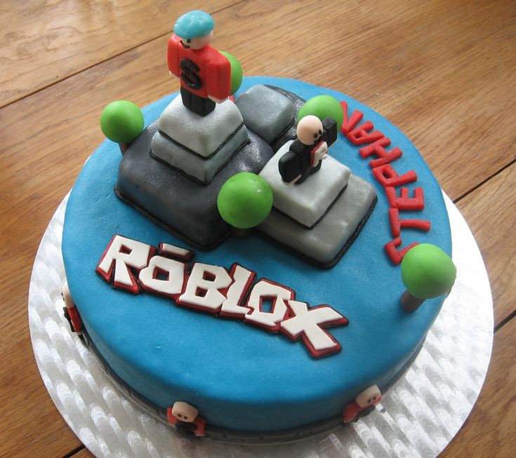 Roblox Birthday Cake  The 25 best images about Roblox on Pinterest