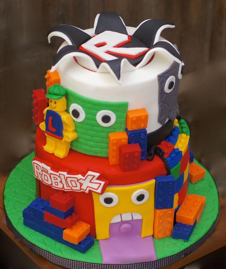 Roblox Birthday Cake  Best 25 Lego roblox ideas on Pinterest
