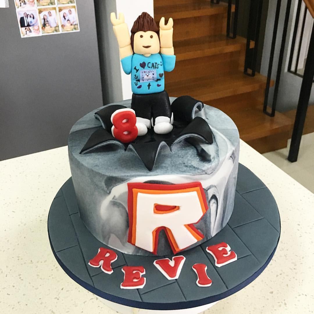 Roblox Birthday Cake  Denis Daily of Roblox cake ️ Happy birthday Rev God bless
