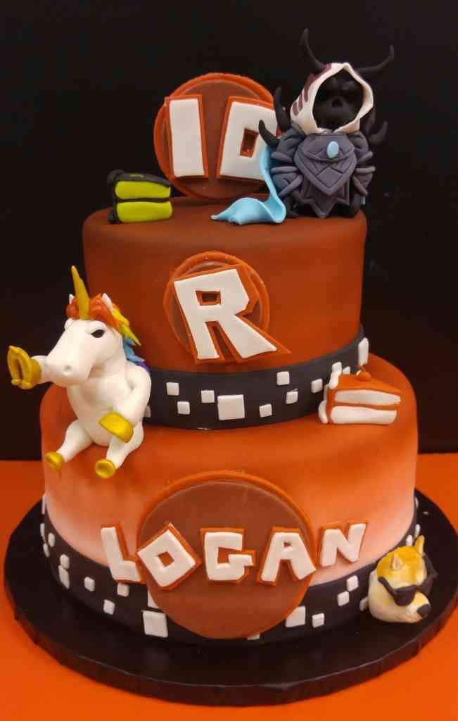 Roblox Birthday Cake  Roblox birthday cake le Bakery Sensual