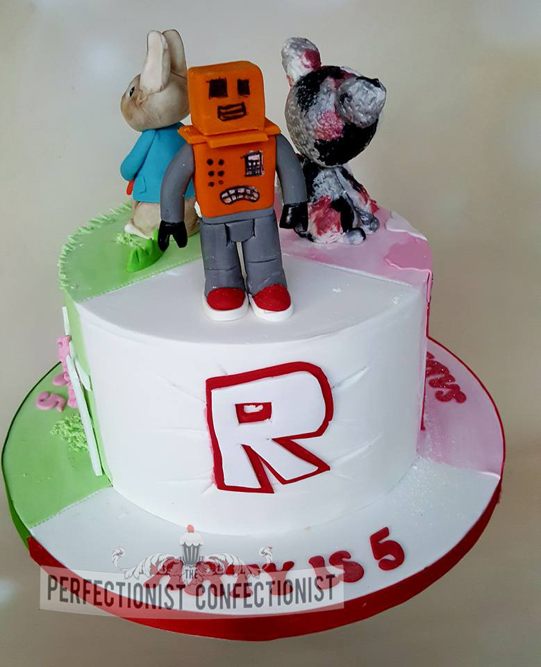 Roblox Birthday Cake  The Perfectionist Confectionist