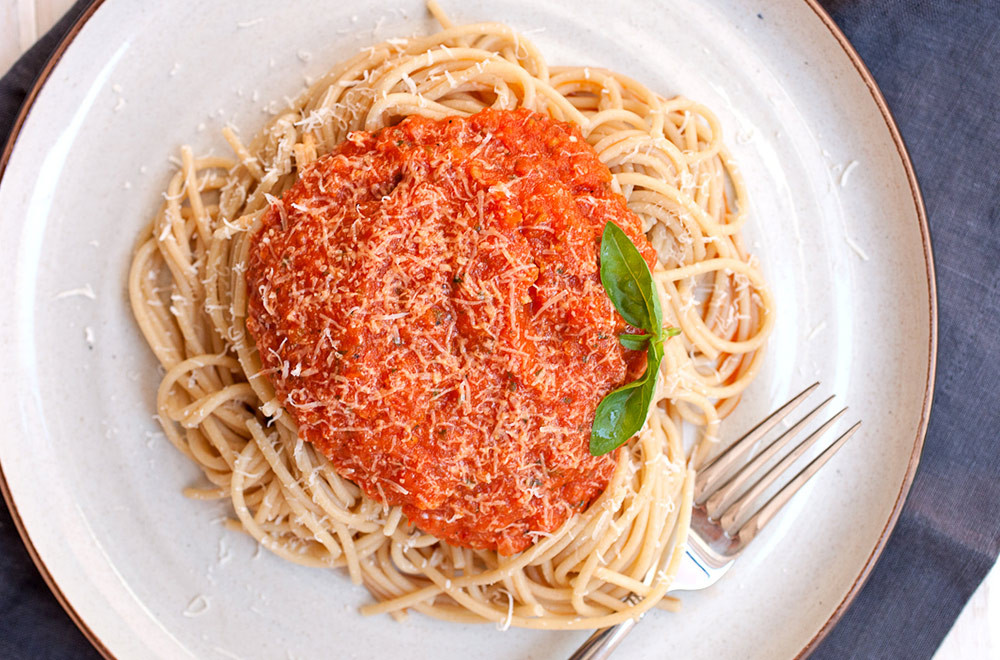 Roma Tomato Sauce  Lipman Produce Recipe